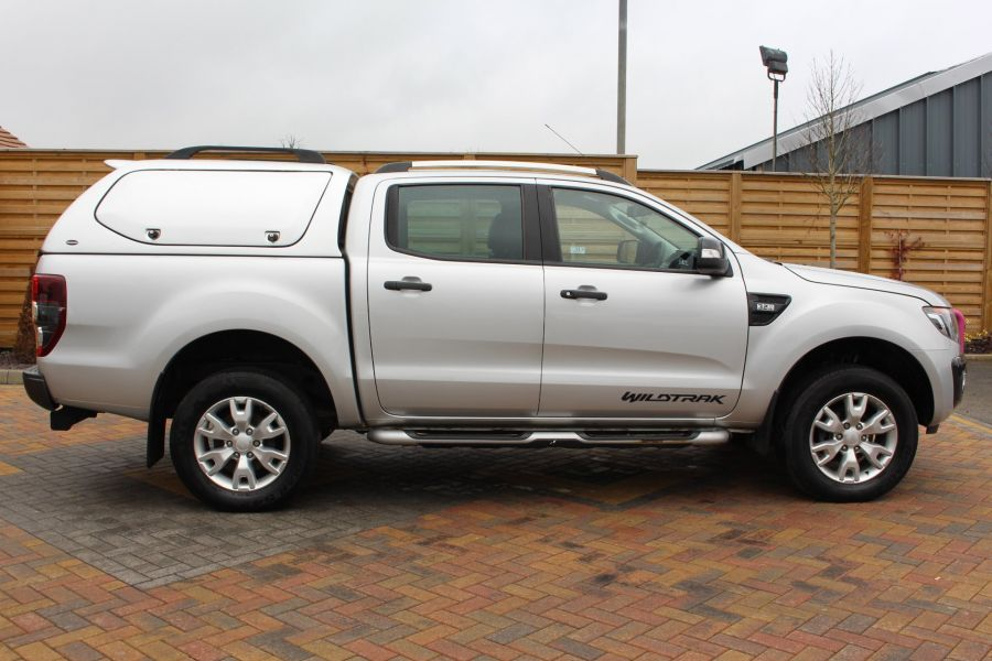 FORD RANGER WILDTRAK 4X4 TDCI 197 DOUBLE CAB WITH TRUCKMAN TOP - 7516 - 4