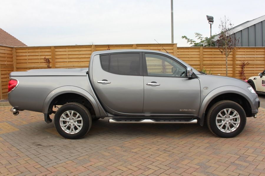 MITSUBISHI L200 DI-D 4X4 LWB BARBARIAN LB 175 BHP DOUBLE CAB WITH MOUNTAIN TOP  - 6724 - 4