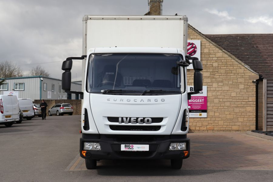 IVECO EUROCARGO  75E16S 4X2 GRP BOX WITH TAIL LIFT  (13925) - 12206 - 13