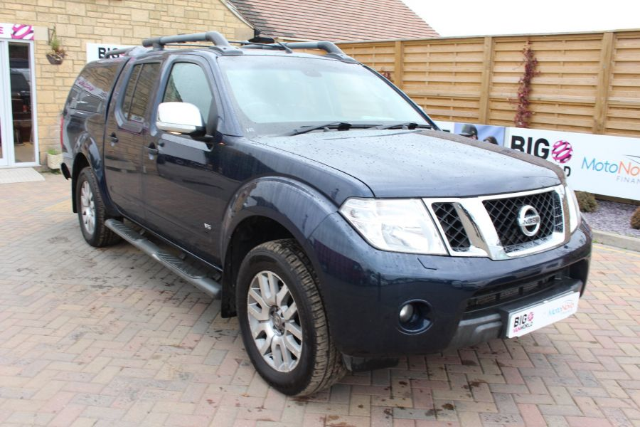 NISSAN NAVARA OUTLAW V6 DCI 231 4X4 DOUBLE CAB WITH TRUCKMAN TOP - 6769 - 3