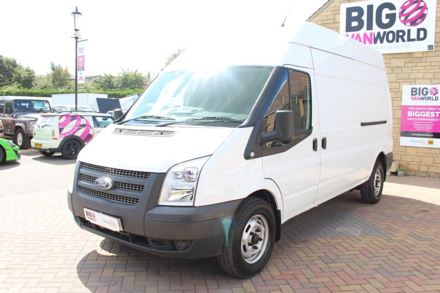 FORD TRANSIT 350 TDCI 125 LWB HIGH ROOF FWD - 6614 - 8