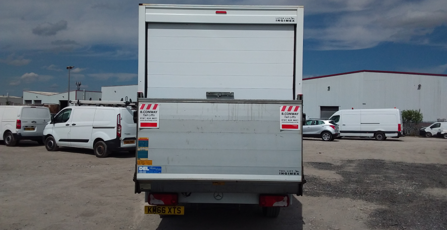 MERCEDES SPRINTER 314 CDI 140 LWB 'ONE STOP' LUTON WITH TAIL LIFT - 10777 - 5