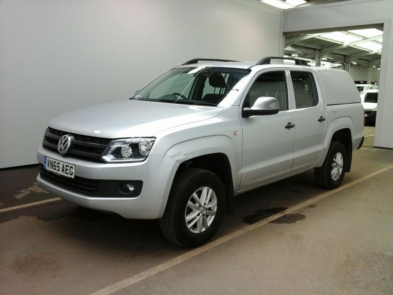 VOLKSWAGEN AMAROK DC TDI 140 STARTLINE 4MOTION DOUBLE CAB WITH TRUCKMAN TOP - 9476 - 1