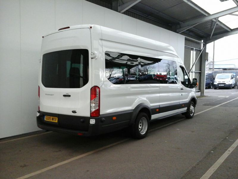 FORD TRANSIT 460 TDCI 125 L4 H3 TREND 17 SEAT BUS HIGH ROOF DRW RWD - 8845 - 2