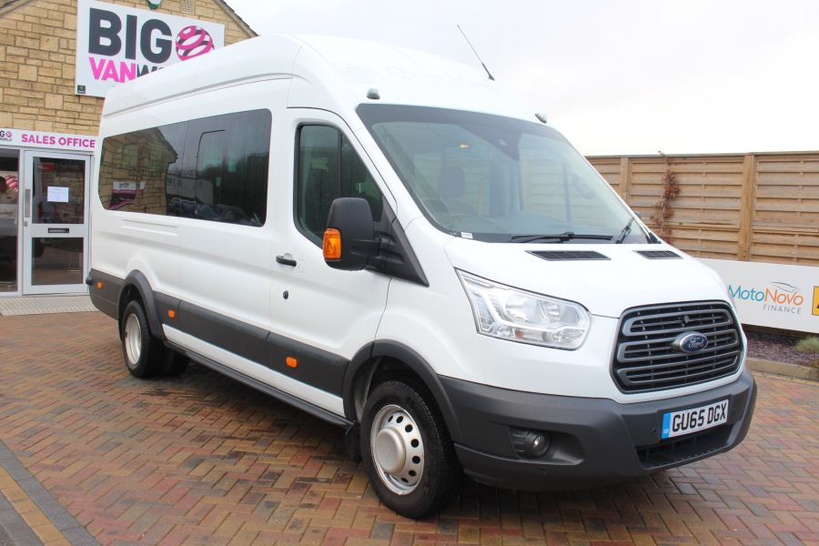 FORD TRANSIT 460 TDCI 125 TREND L4 H3 HIGH ROOF 17 SEAT BUS - 8551 - 1