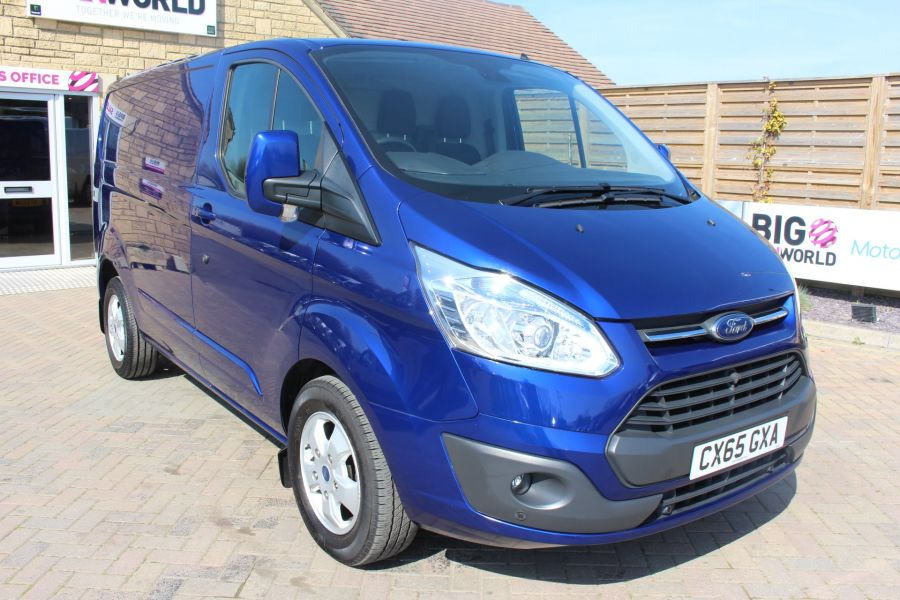 FORD TRANSIT CUSTOM 270 TDCI 155 L1 H1 LIMITED SWB LOW ROOF FWD - 9029 - 1