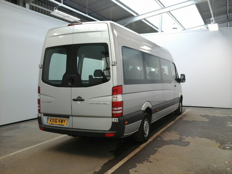 MERCEDES SPRINTER 313 CDI 129 BLUETEC TRAVELINER TL9 LWB 9 SEAT BUS HIGH ROOF - 9618 - 2