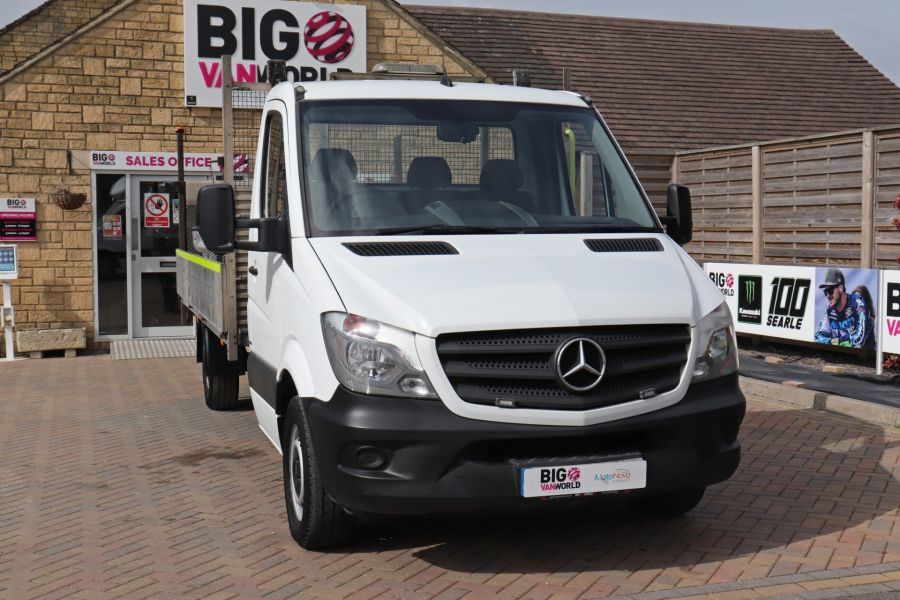 MERCEDES SPRINTER 314 CDI 140 LWB SINGLE CAB ALLOY DROPSIDE WITH TAIL LIFT  (14002) - 12361 - 6
