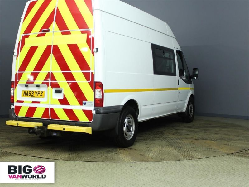 FORD TRANSIT 350 TDCI 100 LWB HIGH ROOF 7 SEAT MESSING UNIT - 7251 - 2