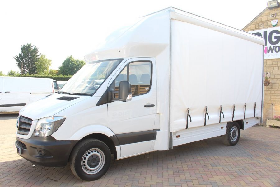 MERCEDES SPRINTER 313 CDI NEW BUILD CURTAIN SIDED BOX - 6298 - 7