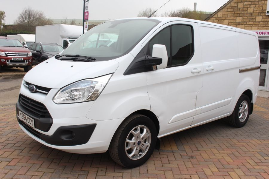 FORD TRANSIT CUSTOM 290 TDCI 155 L1 H1 LIMITED SWB LOW ROOF FWD - 9074 - 8
