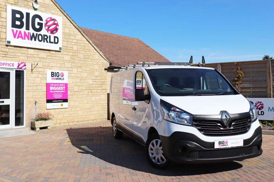 RENAULT TRAFIC LL29 DCI 115 BUSINESS LWB LOW ROOF - 9391 - 1