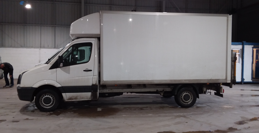VOLKSWAGEN CRAFTER CR35 TDI 136 STARTLINE LWB 'ONE STOP' LUTON WITH TAIL LIFT - 10847 - 7
