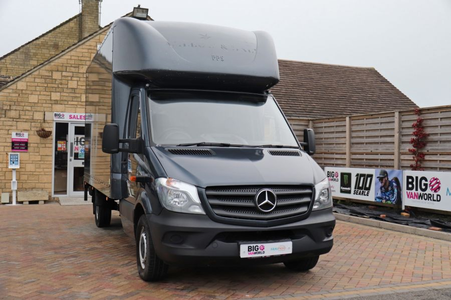 MERCEDES SPRINTER 314 CDI 140 LWB LUTON WITH TAIL LIFT - 11407 - 4