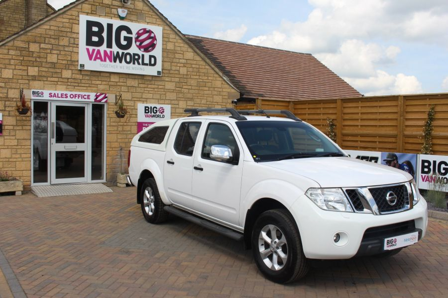 NISSAN NAVARA DCI 190 TEKNA CONNECT 4X4 DOUBLE CAB WITH SPORT TRUCKMAN TOP - 6296 - 2