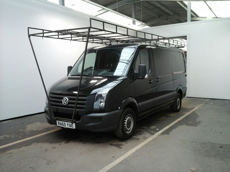 VOLKSWAGEN CRAFTER CR35 TDI 136 MWB STANDARD LOW ROOF - 9093 - 1