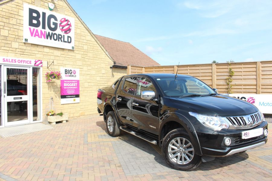 MITSUBISHI L200 DI-D 178 4WD WARRIOR DOUBLE CAB WITH MOUNTAIN TOP - 6974 - 2