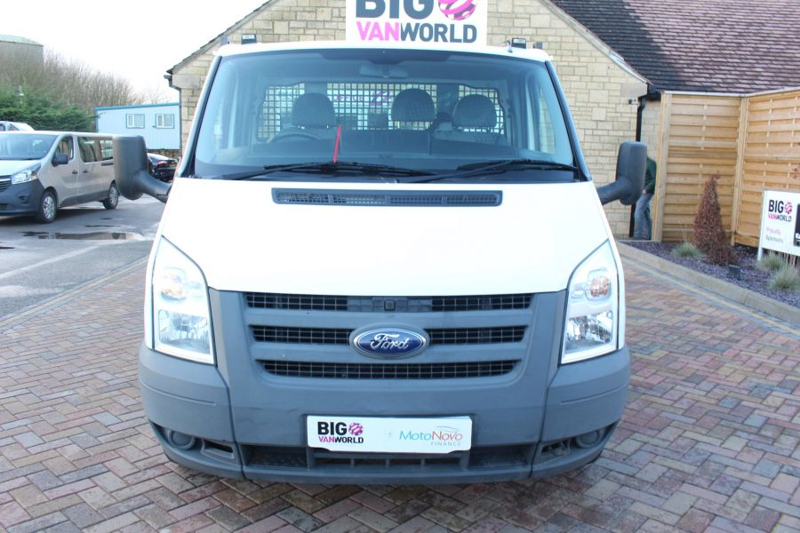 FORD TRANSIT 350 TDCI 100 MWB 'ONE STOP' ALLOY TIPPER DRW RWD - 6726 - 18