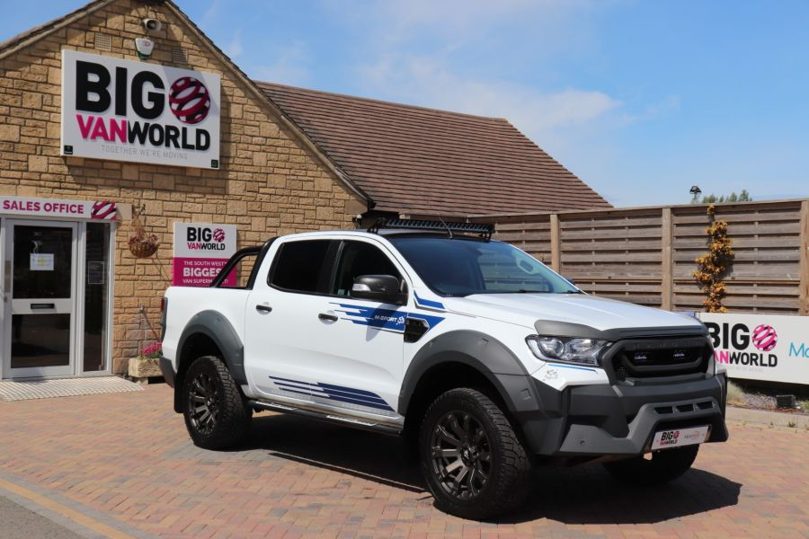 FORD RANGER TDCI 200 M SPORT 4X4 DOUBLE CAB  - 10739 - 3