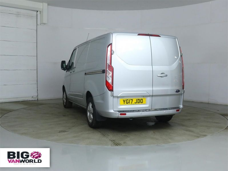 FORD TRANSIT CUSTOM 290 TDCI 170 L1 H1 LIMITED SWB LOW ROOF - 8891 - 4