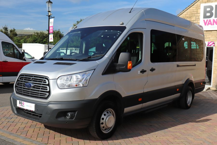 FORD TRANSIT 460 TDCI 155 L4H3 TREND 17 SEAT BUS HIGH ROOF DRW RWD  - 9893 - 9