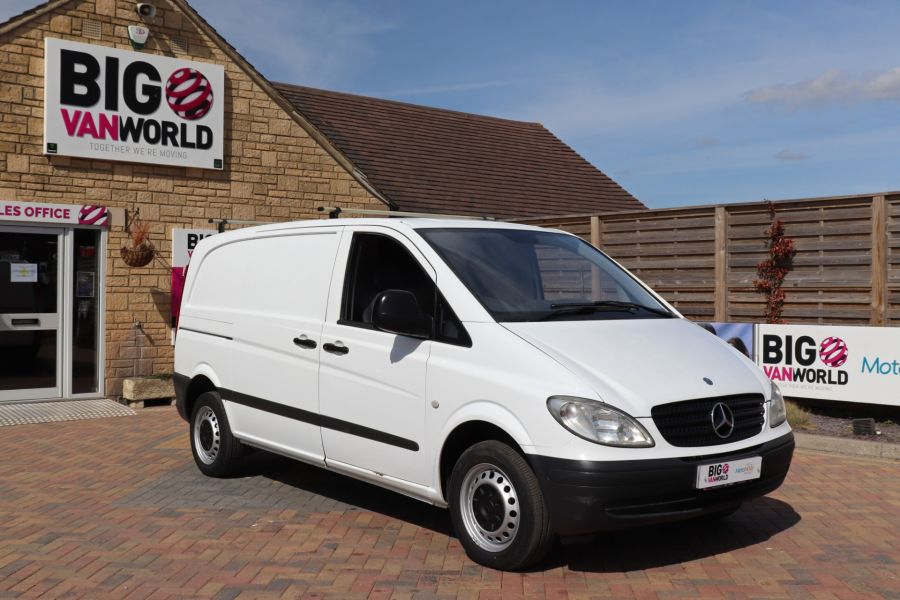 MERCEDES VITO 109 CDI 95 COMPACT SWB LOW ROOF - 10639 - 3