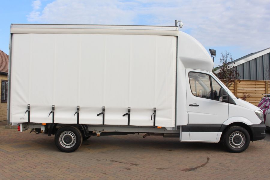 MERCEDES SPRINTER 313 CDI LWB 14FT CURTAIN SIDE LUTON BOX - 6147 - 3