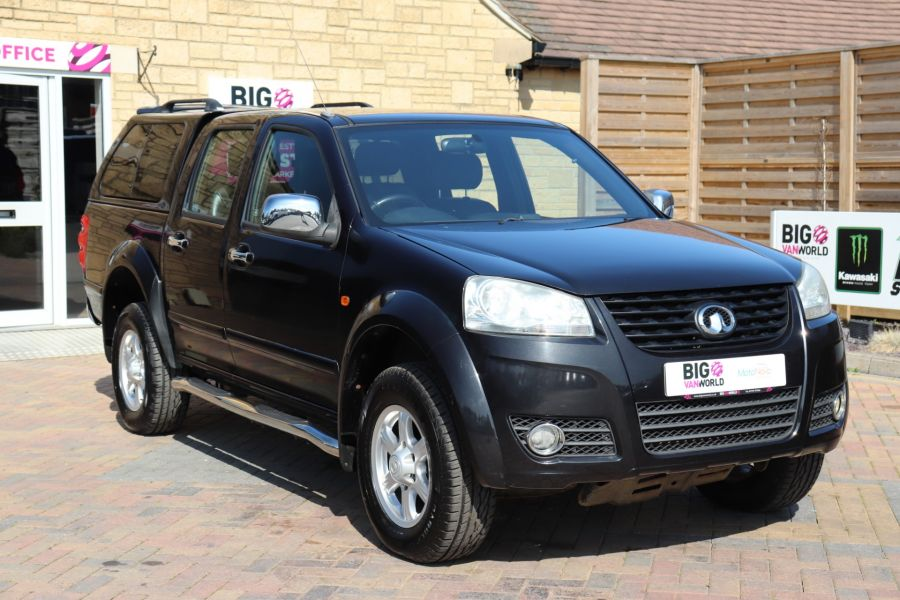 GREAT WALL STEED TD 141 SE 4X4 DOUBLE CAB WITH TRUCKMAN TOP - 9849 - 3