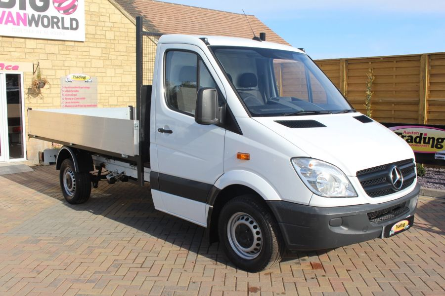 MERCEDES SPRINTER 313 CDI MWB SINGLE CAB ALLOY TIPPER - 6105 - 8