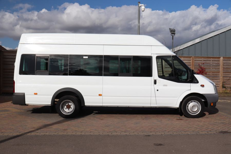 FORD TRANSIT 430 TDCI 135 EL LWB 17 SEAT BUS HIGH ROOF WITH WHEELCHAIR ACCESS RAMP DRW RWD - 10401 - 5