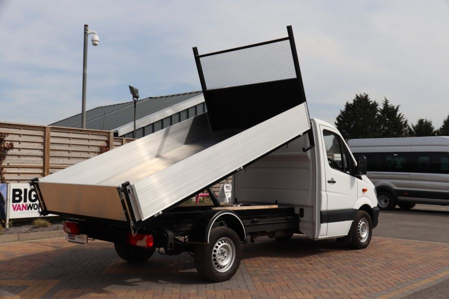 MERCEDES SPRINTER 313 CDI 129 MWB SINGLE CAB NEW BUILD ALLOY TIPPER - 10678 - 6