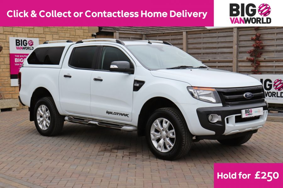 FORD RANGER TDCI 200 WILDTRAK 4X4 DOUBLE CAB WITH TRUCKMAN TOP  (13921) - 12353 - 1