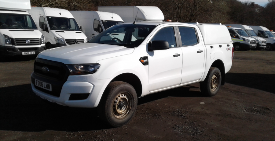FORD RANGER TDCI 160 XL 4X4 DOUBLE CAB WITH TRUCKMAN TOP  (14253) - 12512 - 8