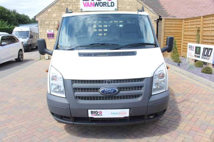 FORD TRANSIT 350 TDCI 155 LWB SINGLE CAB 'ONE STOP' 12FT 6IN ALLOY DROPSIDE RWD - 6220 - 9