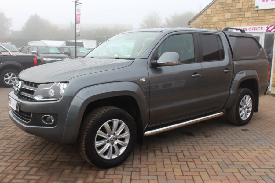 VOLKSWAGEN AMAROK TDI 180 HIGHLINE 4MOTION DOUBLE CAB WITH TRUCKMAN TOP AUTO - 6906 - 8