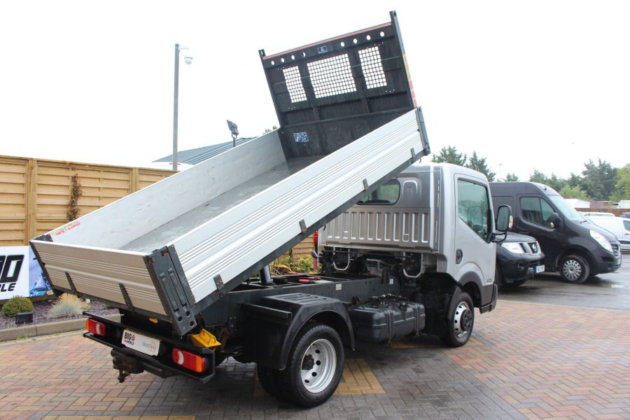 NISSAN NT400 CABSTAR DCI 35.14 SWB ALLOY TIPPER - 6520 - 4
