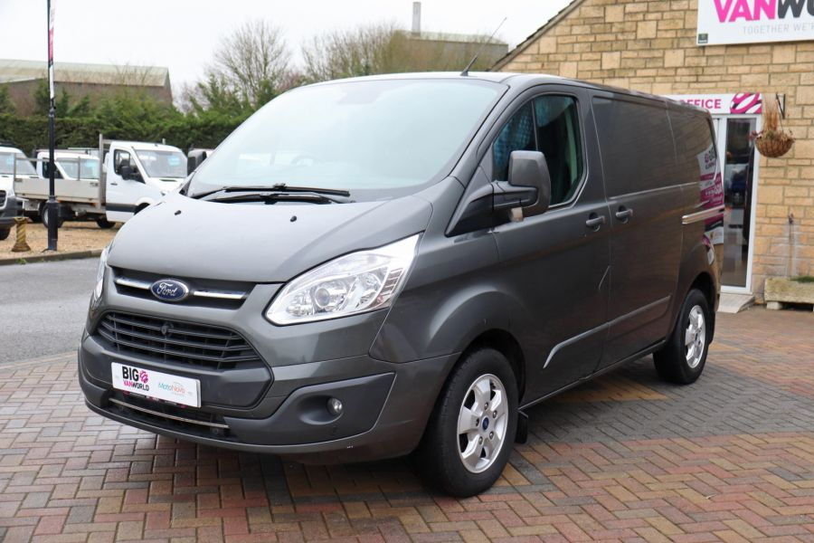 FORD TRANSIT CUSTOM 290 TDCI 170 L1H1 LIMITED SWB LOW ROOF FWD - 10514 - 10