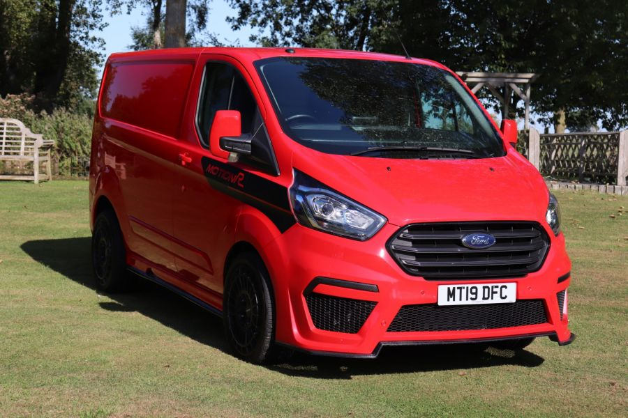 FORD TRANSIT CUSTOM 280 TDCI 130 L1H1 MOTION R LIMITED EDITION - 9983 - 2