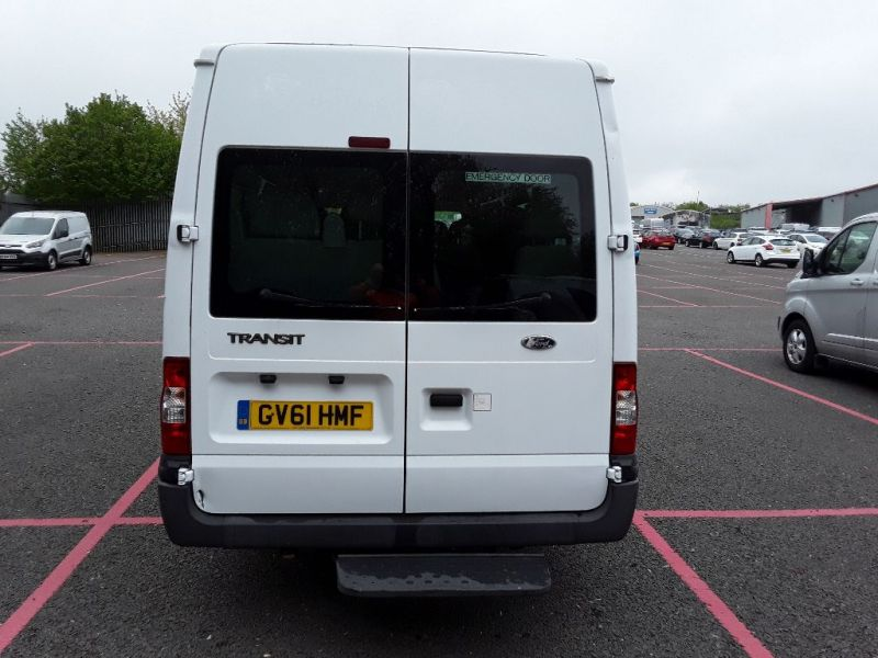 FORD TRANSIT 430 TDCI 135 EL LWB 17 SEAT BUS MEDIUM ROOF DRW RWD - 9424 - 3