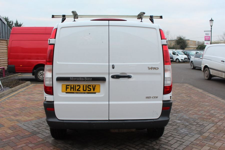 MERCEDES VITO 113 CDI 136 COMPACT SWB LOW ROOF - 7100 - 6