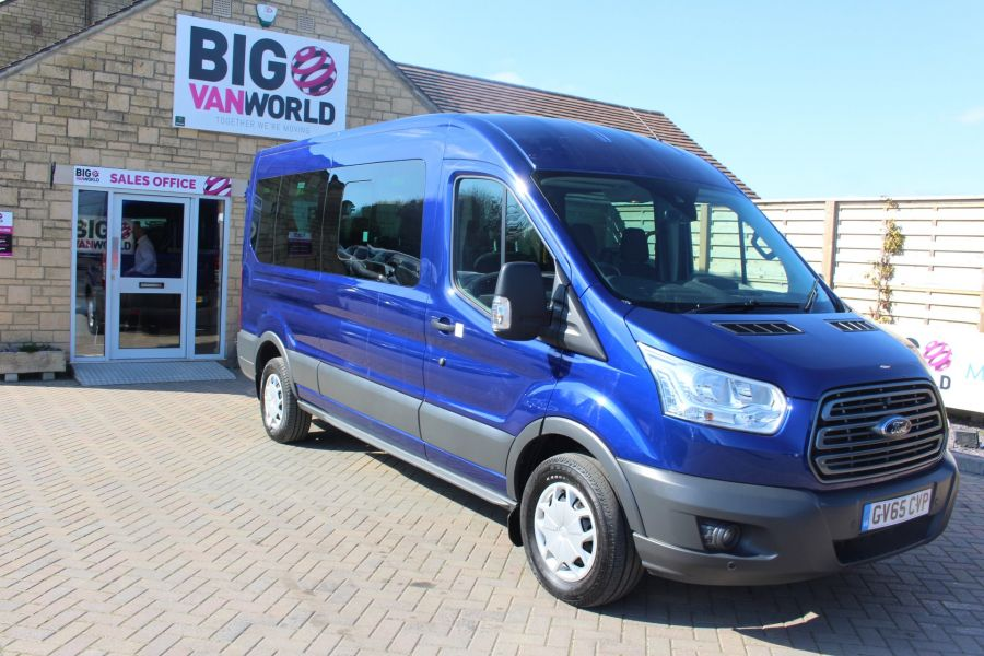 FORD TRANSIT 410 TDCI 125 L3 H2 TREND 15 SEAT BUS LWB MEDIUM ROOF RWD - 9007 - 3