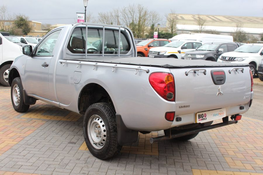 MITSUBISHI L200 DI-D 134 4X4 4LIFE LWB SINGLE CAB WITH TONNEAU COVER - 7477 - 7