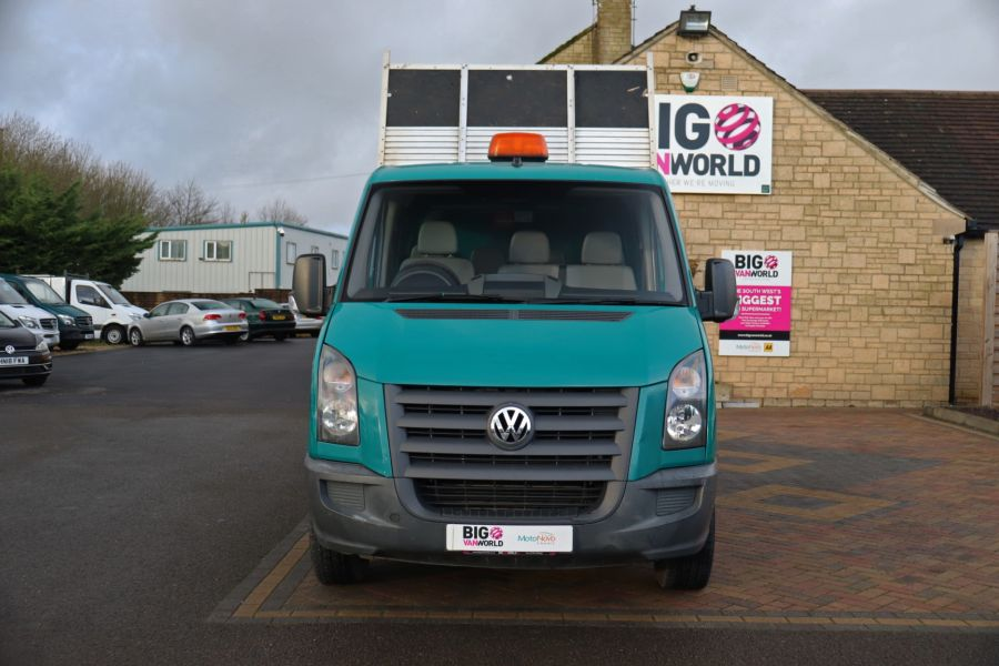 VOLKSWAGEN CRAFTER CR35 TDI 109 LWB 7 SEAT DOUBLE CAB ALLOY TIPPER - 9967 - 11