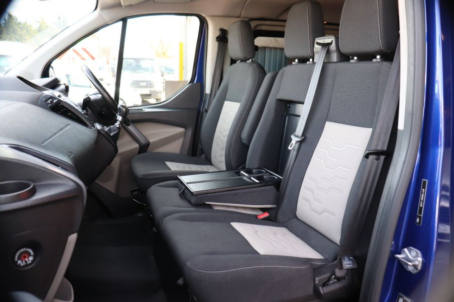 FORD TRANSIT CUSTOM 310 TDCI 130 L1H1 LIMITED DOUBLE CAB 6 SEAT CREW VAN FWD - 10553 - 33
