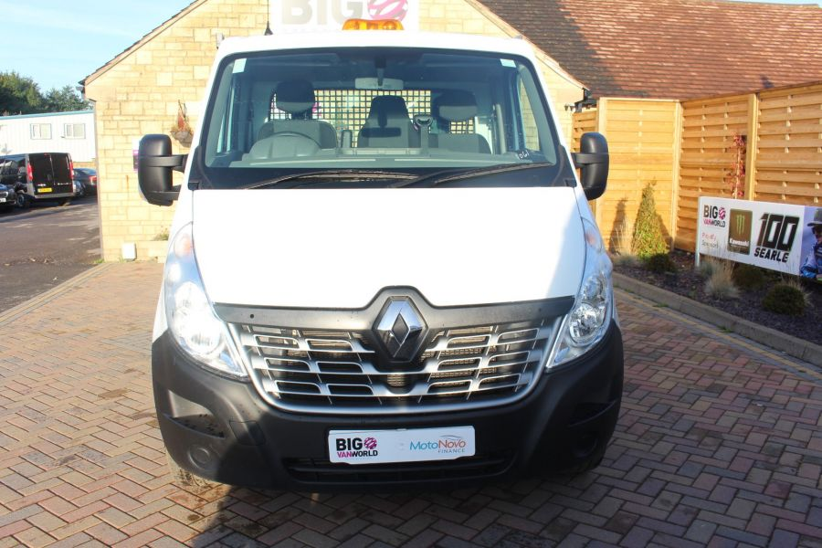 RENAULT MASTER LL35 DCI 125 BUSINESS LWB ALLOY DROPSIDE - 6657 - 9