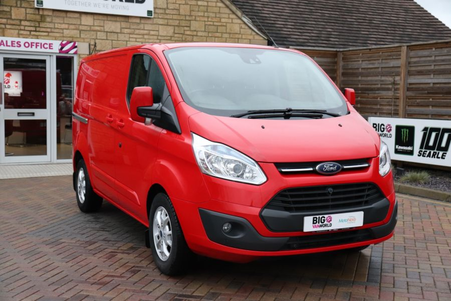 FORD TRANSIT CUSTOM 290 TDCI 125 L1H1 LIMITED SWB LOW ROOF FWD - 12045 - 6