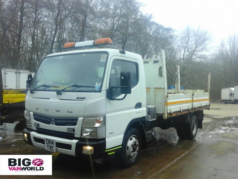 MITSUBISHI CANTER 7C15 3.0 D 148 BHP 4X2 SINGLE CAB STEEL TIPPER - 12307 - 6