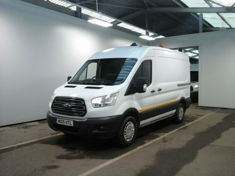 FORD TRANSIT 350 TDCI 125 L2H2 TREND MWB MEDIUM ROOF RWD - 10513 - 1