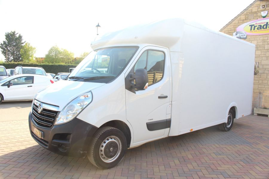VAUXHALL MOVANO F3500 L3H1 CDTI 125 LOW LOADER 13FT LUTON - 5858 - 6