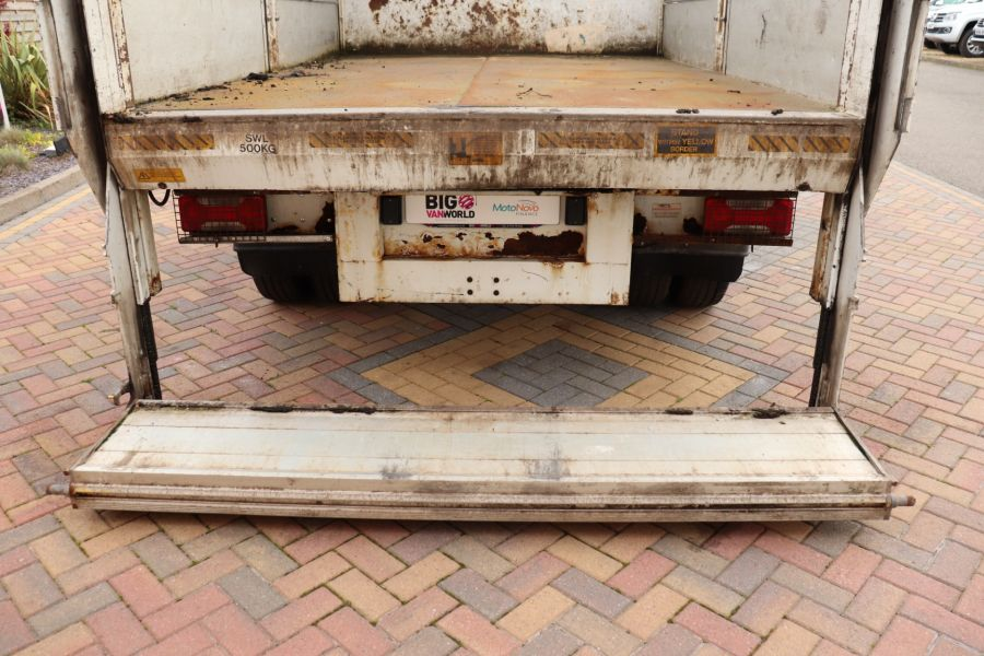 IVECO DAILY 70C18 3450 WB SINGLE CAB ALLOY CAGED TIPPER WITH TAIL LIFT - 9614 - 45